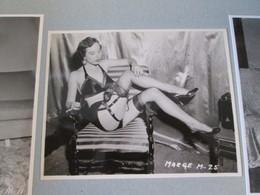 IK3 Photo Erotique 50's : MARGE M-25 , Tirage Des 90's Provenant De La Boutique US D'IRVING KLAW , 10 X 15cm Env. - Erotiques (…-1960)