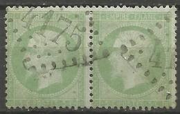 France - Napoleon III Et/ou Cérès - Oblitération Sur N°20 - GC 4175 VEZELISE (Meurthe & Moselle) - Marcophilie (Timbres Détachés)