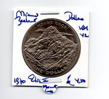 NIEUW ZEELAND DOLLAR 1970 MOUNT COOK - Nueva Zelanda