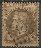 France - Napoleon III Et/ou Cérès - Oblitération Sur N°30 - GC 4189 VICHY (Allier) - Marcophilie (Timbres Détachés)
