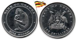 Ouganda - 100 Shillings 2004 (Singe - Monkey - UNC) - Ouganda