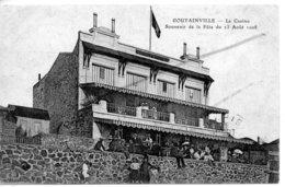 AGON COUTAINVILLE   LE CASINO SOUVENIR DE LA FETE DU 13 AOUT 1908 - Autres Communes