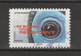 """FRANCE / 2015 / Y&T N° AA 1155 : """"Les Animaux Nous Regardent"""" (Toucan) - Choisi - Cachet Rond - KlebeBriefmarken"""