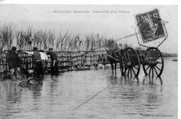 DE BLAINVILLE A COUTAINVILLE - CONSTRUCTION D'UNE PECHERIE - Autres Communes
