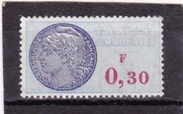 T.F. Taxes Communales N°27 Neuf - Steuermarken