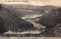 Les Lacs De Retournemer Et Longemer (animée Tram Tramway 1914 , Timbre Taxe...) - France