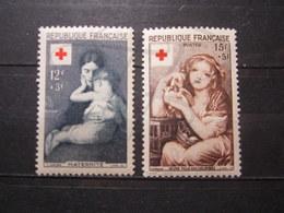 VEND BEAUX TIMBRES DE FRANCE N° 1006 + 1007 , X !!! (b) - France