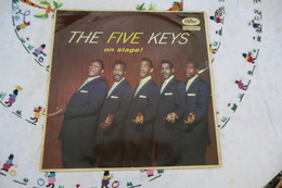 Disque De The Five Keys - On Stage ! - Capitol T 828 - 1957 - Soul - R&B
