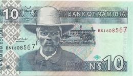 NAMIBIE 10 NAMIBIA DOLLARS ND2001 UNC P 4 - Namibie