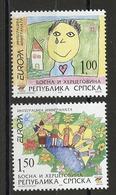 Europa CEPT 2006 Bosnie Herzégovine Adm Serbe - Bosnia - Bosnien Y&T N°343 à 344 - Michel N°366A à 367A *** - Europa-CEPT