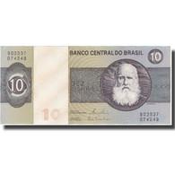 Billet, Brésil, 10 Cruzeiros, UNDATED (1970-80), KM:193e, NEUF - Brazil