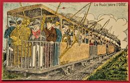 HUMOUR PECHE TRAIN OISE ILLUSTRATEUR G VANACKENE - Illustrateurs & Photographes