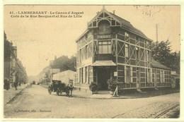 Dt  59 LAMBERSART Le Canon D'Argent ,coin De La Rue Becquart Et Rue De Lille - Lambersart