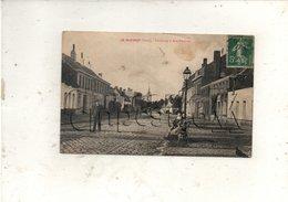 Le Quesnoy (59) : La Rue Foroeulx Du Faubourg  En 1909 (animé) PF. - Le Quesnoy