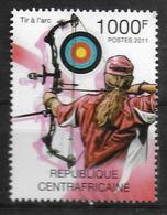 CENTRAFRIQUE  N° 2085  * *  Jo 2012  Tir A L Arc - Tir à L'Arc