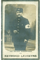 WO1 / WW1 - Doodsprentje Raymond Laureyns - Kaprijke / Calais (FR) - Gesneuvelde - Décès