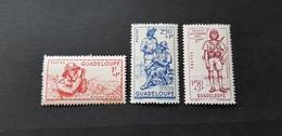 Guadeloupe Yvert 158-160** - Neufs