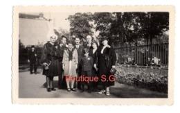 Photo Groupe Femme Homme Coiffe Rue Enfant Garcon 11,5x7 Cm - Persone Anonimi