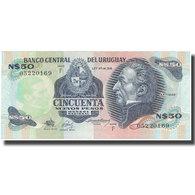 Billet, Uruguay, 50 Nuevos Pesos, KM:61c, SPL - Uruguay