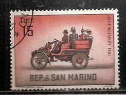 SAINT MARIN  N°  533  OBLITERE - San Marino