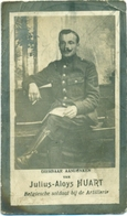 WO1 / WW1 - Doodsprentje Julius Aloys Huart - Waarmaarde / Hoogstade  - Gesneuvelde - Décès