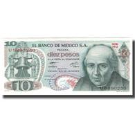 Billet, Mexique, 10 Pesos, 1977-02-18, KM:63i, NEUF - Mexiko
