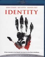 DVD BLU RAY Identity - Polizieschi