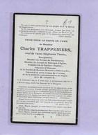 CHARLES TRAPPENIERS: CORBEEK-LOO-BURGEMEESTER-DOODSPRENTJE - Images Religieuses