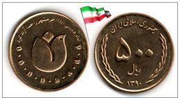 Iran - 500 Rials 2011 (SH1390) (UNC) - Irán