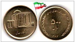 Iran - 500 Rials 2008(9) (SH1387) (UNC) - Irán