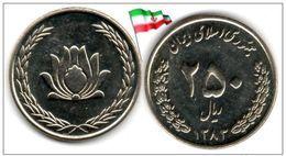 Iran - 250 Rials 2004 (UNC) - Irán