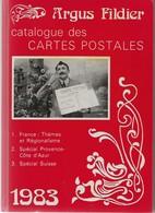 Argus Fildier 1983, Catalogue Des Cartes Postales, état Neuf, TB - Literatur