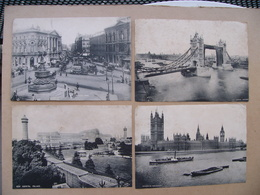 Lot 34 Phototypies LONDRES LONDON 1899 Gigantic Wheel Ludgate Hill The Zoo Embankment Crystal Palace Piccadilly Circus - Unclassified