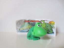 Kinder Surprise Deutch 2000/2001: N° 610925 + BPZ - Steckfiguren