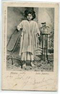 MEXIQUE MEXICO India Zapoteca  No 50 Guillermo Bauer  - écrite En 1910 D08 2020 - Mexique