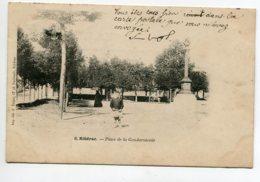 24 RIBERAC Enfant Place De La Gendarmerie 1904 écrite Timbrée     D08 2020 - Riberac
