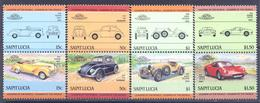 1985. St. Lucia, Cars, 8v, Mint/** - St.Lucia (1979-...)