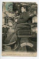 75 PARIS Les Femmes Cocher  Mme CHARNIER  Sur Le Siege De Son Taximetred ND 2265 écrite 1907 Timb   D08 2020 - France