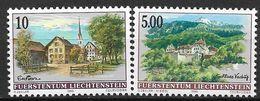 1996 Liechtenstein   Mi. 1126-7 **MNH    Dorfansichten. - Neufs