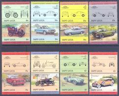 1986. St. Lucia, Cars, 16v, Mint/** - St.Lucia (1979-...)