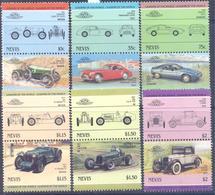 1983. St. Kitts & Nevis, Cars, 12v, Mint/** - St.Kitts And Nevis ( 1983-...)