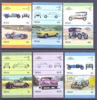 1986. St. Kitts & Nevis, Cars, 12v, Mint/** - St.Kitts And Nevis ( 1983-...)