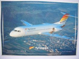 Avion / Airplane / TYROLEAN / Fokker 70 / Airline Issue - 1946-....: Ere Moderne