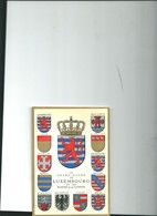 Carte Luxembourg Blasons Robert Louis - Other
