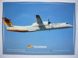 Avion / Airplane / TYROLEAN / Q 400 DASH 8 / Airline Issue - 1946-....: Ere Moderne