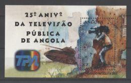 Angola - 2001 National Television Company Block MNH__(TH-17138) - Angola