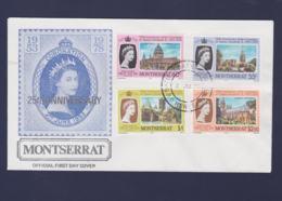 Montserrat FDC 1978 Coronation Queen Elizabeth (NB**LAR9-90) - Montserrat