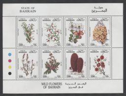 Bahrain - 1993 Native Flora Kleinbogen MNH__(THB-1398) - Bahrain (1965-...)