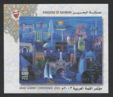 Bahrain - 2003 Sharm El-Sheikh Block MNH__(THB-1337) - Bahrain (1965-...)