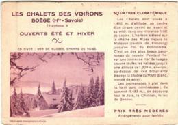 31nst 1509 BOEGE - BONS SAINT DIDIER (DIMENSIONS 10 X 15 CM) - Boëge